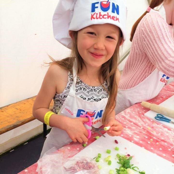 Fun Kitchen participant
