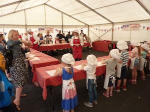 P1020535 Twenty-five children learn to cook at Fun Kids Kitchen!